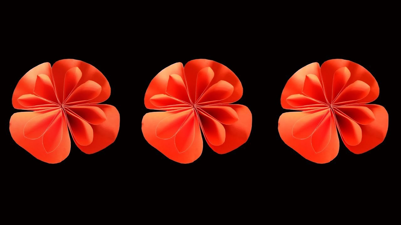 Easy flower making : DIY Crafts