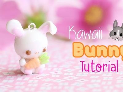 Kawaii Bunny with Carrot│Polymer Clay Tutorial