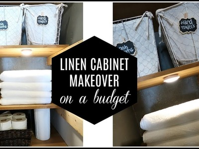 Linen Closet Makeover + Organization | Laci Jane DIY