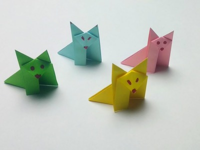 Paper Fox easy but cool!