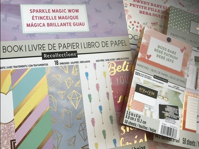 Part 2 Michaels Lowest Prices of the Season Sale - Storage & Paper!!