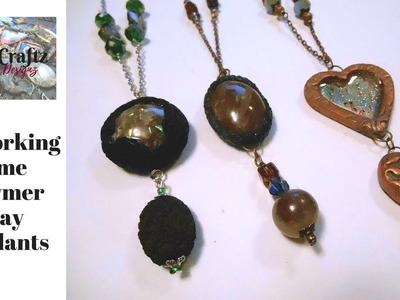 ReWorking some Polymer Clay Jewelry