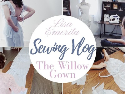 Sewing Vlog: The Willow Bridal Gown in Sky Blue