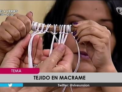 Tejido en Macrame, Patricia Lee