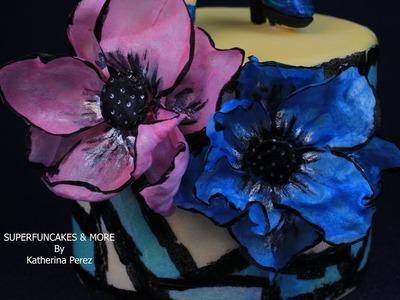WAFER PAPER FANTASY FLOWERS