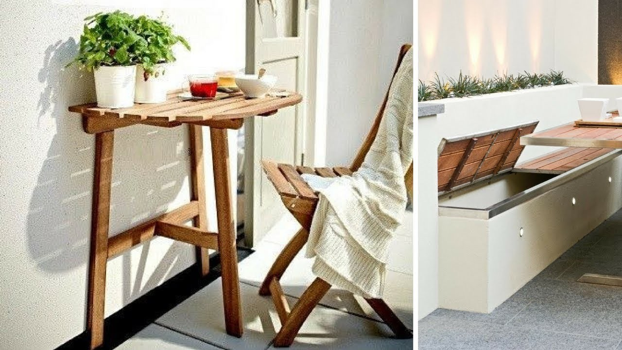 ???? 5 DIY Outdoor Furniture Ideas for Small Backyard ????