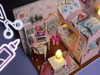 ASMR DIY Let's Build a Tiny Bedroom - So Many Tingles!!