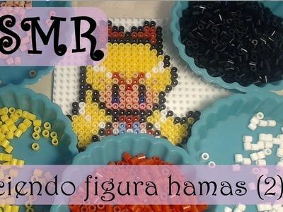 ASMR (Español): Haciendo una figura con hama beads (2)