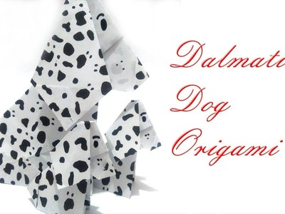 Dalmatian Dog Origami