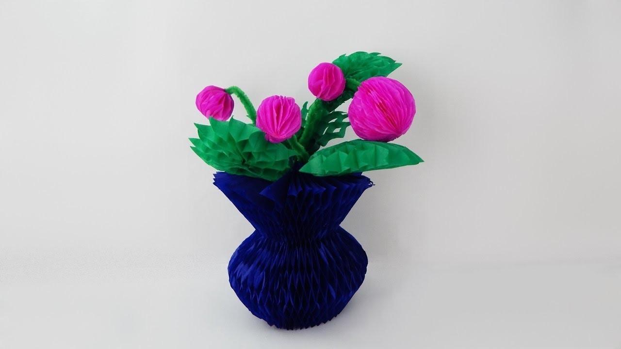 Decoration Vase With Flowers Diy Dekoration Vase Mit Blumen