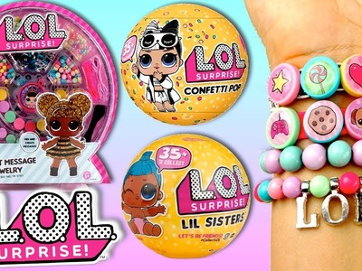 DIY Custom L.O.L Surprise  Secret Message Toy & Confetti POP Series 3 Wave 2