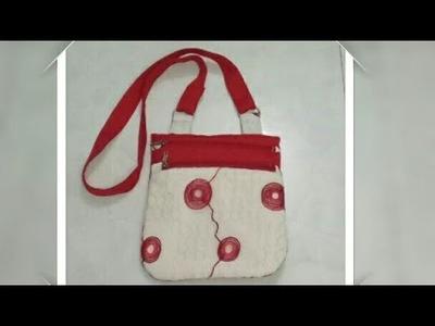 DIY : Designer Side Bag For The Girls By Anamika Mishra. .