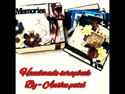 DIY handmade scrapbook for someone special ||adgsgifts ||anshupatel