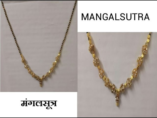 DIY How to make A New trends Mangal sutra at home|| by New Ideas for New Comer ||
