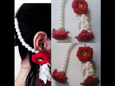 Diy how to make fresh flowers jewelry