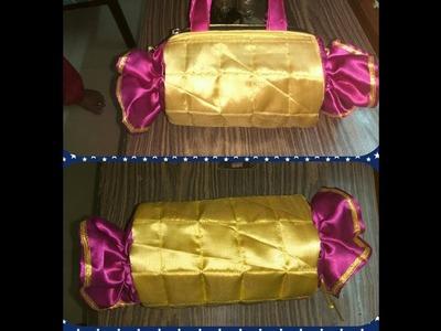 DIY- How to sew Chocolate  hand bag