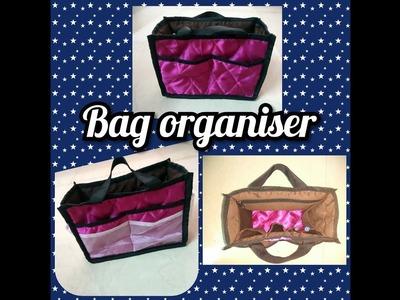 DIY-  how  to sew Hand bag organiser