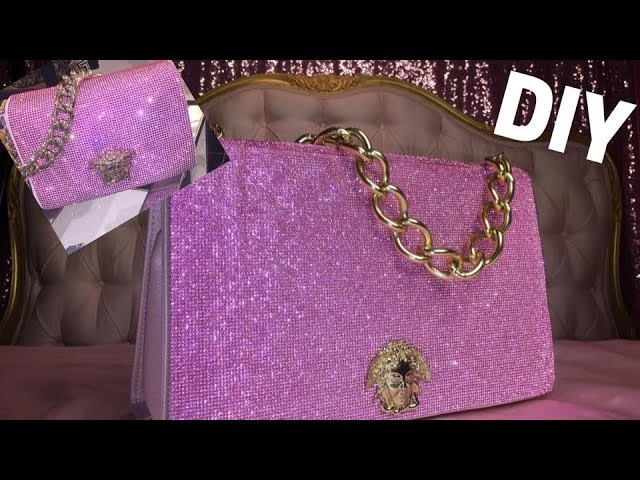 67c903711139 DIY Versace Crystal Medusa Bag for  40