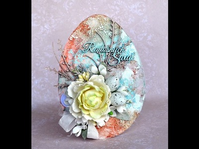 Easter Egg - mixed-media tutorial
