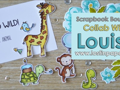 Go Wild with Copics - Collaboration with Louise at Scrapbook Boutique! Part 2