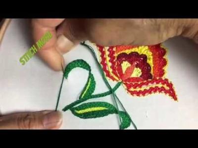 Stitch Hand Embroidery 2018 Bangla Hand Embroidery Hand Stitch