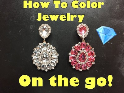 How To Color Jewelry On The Go Drag Queen Tips Jaymes