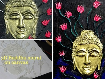 How to make 3D buddha on canvas