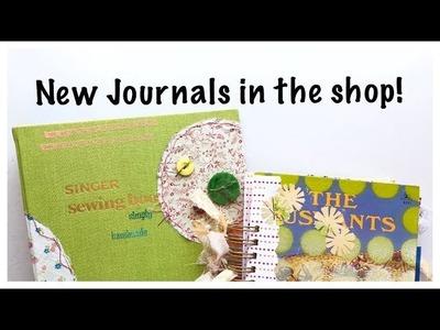 Junk Journal Flip-Through:  Journal with Me: Handmade Journals
