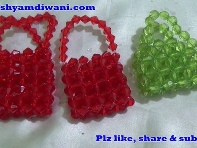 Make Beaded Handbag for Radha Rani.  Easy Step by Step Tutorial - Beginner level