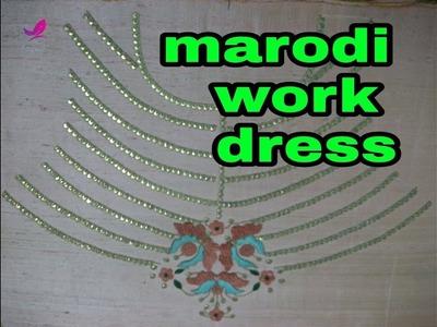 Marodi work# hand embroidery k fashion