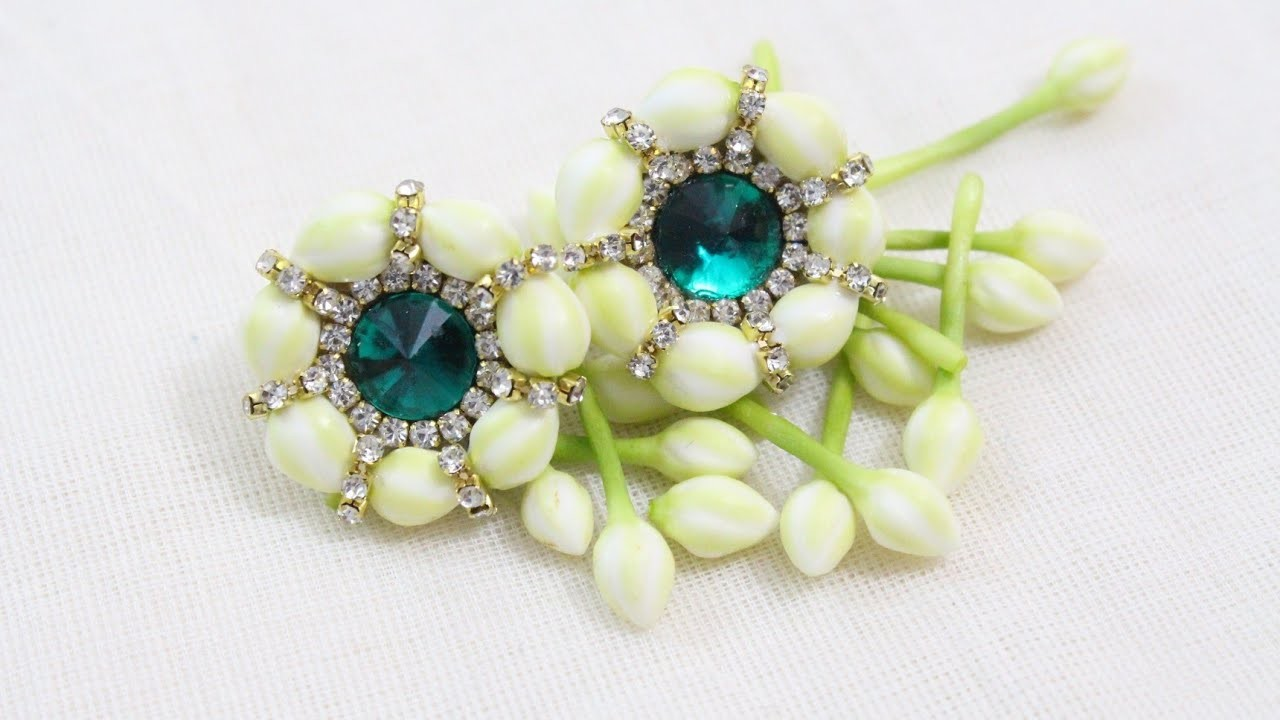 Natural Flower Earring. Flower Jewelry