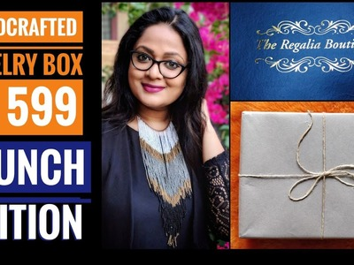 *New* Regalia Boutique | Handmade jewelry subscription | Try On and Review