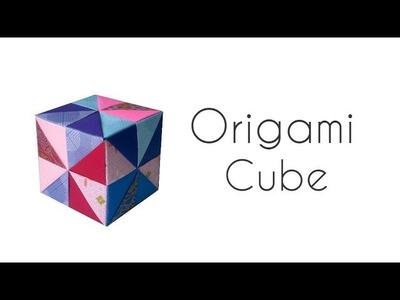 Origami  Cube (modular origami)