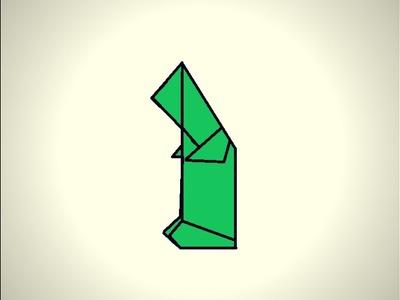 Origami Origami Sailboat Easy Folding Instruction Origami