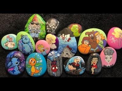 Painting Rocks Tutorial Part 1