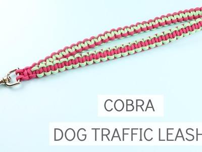 PARACORD SOLOMON (COBRA) DOG TRAFFIC LEASH TUTORIAL