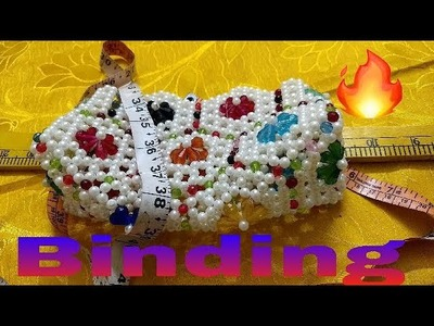 Part-1. How to make beads bag binding made by Arpita creation