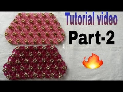 Part-2 How to make beads bag .  made by Arpita creation.