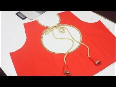 Saravana Stores Shopping Haul Designer Blouse Cutting and Stitching (DIY)