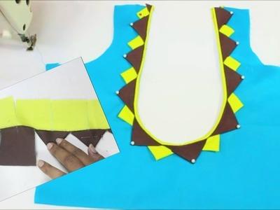 Simply Beautiful Designer Blouse Easy To Make(DIY) | TAMIL