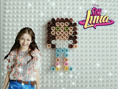 Soy Luna • Luna perler beads STOP MOTION tutorial