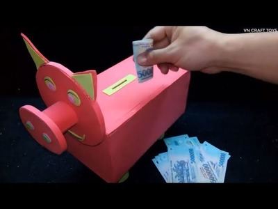 Wow! Amazing DIY Piggy Bank
