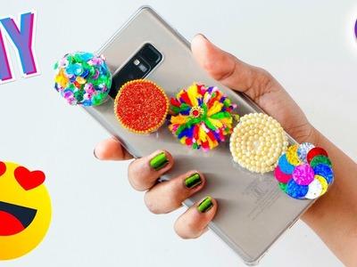 5 Best out of waste Popsocket DIY Craft Idea | DIY craft ideas | Artkala 486