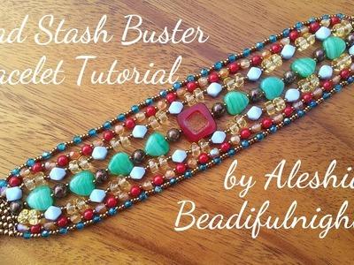 Bead Stash Buster Bracelet Tutorial