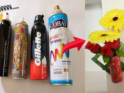Best out of waste spray bottle craft ideas ! how to reuse waste spray bottles ! craft videos !