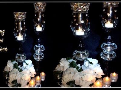 Black and White Decorative Wedding Candle Holders. Dollar Tree Hauls