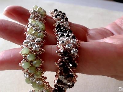 Chords Bracelet DRAW stitch with 2 beads per side  - No Audio