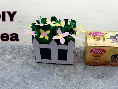 DIY recycled craft with Fem cover.DIY craft idea.Best DIY.Arts and craft