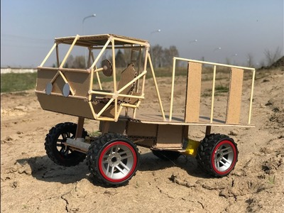 DIY Truck Oshkosh M977 Made for Movie The Fast and the Furious