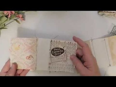 Fabric Spine Bag Journal Tutorial